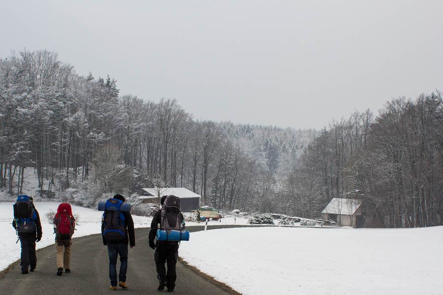 Auf in die Schneelandschaft Peter Neubauer